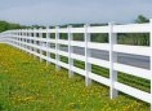 Kwikfynd Pvc fencing afterlee