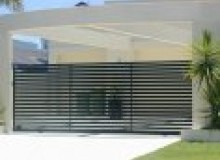 Kwikfynd Modular Wall Fencing afterlee