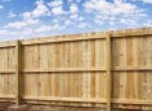 Kwikfynd Wood fencing afterlee